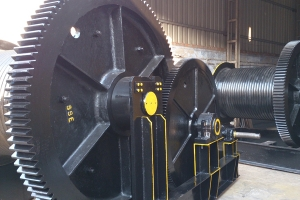 Big Gear-& Rope Drum, Rope Drum Hoist Assembly
