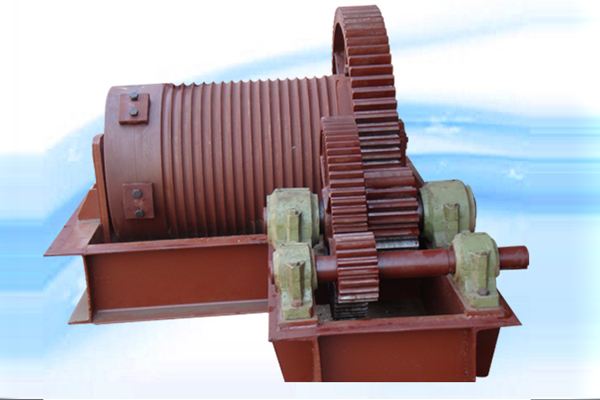 Rope Drum Hoist Assembly